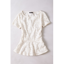 Netted Stanza Top - Anthropologie.com